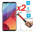 2-Pack 9H Premium Tempered Glass Screen Protector For LG V30 Protective Film