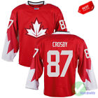 World Cup of Hockey Olympics jersey 87 Sidney Crosby Free Shipping Size S 3XL