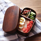 Japanese-style Bento Boxes Wooden Lunch Box Sushi Portable Bowl Food Container