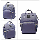 Lequeen Mummy Maternity Nappy Diaper Bag Large Capacity Baby Bag Travel Backpack фото