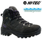 LADIES HI TEC WATERPROOF WALKING HIKING WINTER WORK ANKLE BOOTS SHOES TRAINERS