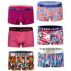6-pack boxer brief man underpants comfortable male underwear sexy U bulge pouch