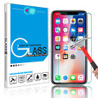 9H Real HD Clear Premium Tempered Glass Screen Protector Film for Apple iPhone X <br/> US Stock, Free Shipping, High Quality, Over 900+ Sold!!