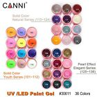 CANNI Nail Art Painting Gel Supply Soak Off Gel for Nail Series LED UV Color Gel