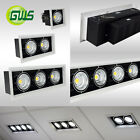 Adjustable Aluminium Ceiling LED COB Spot Downlight Single,Twins,Triple & Quad