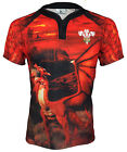 Olorun Wales Vapour Supporters Rugby Shirt S-7XL