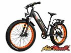 Addmotor MOTAN Women Electric Bicycle Bikes 500W 26'' Full Suspension EBike M450