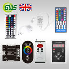 RGB/RGBW/Dream Colour 3528 5050 LED Strip Light Remote Controller Receiver Kit