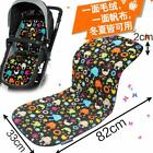 Cotton Polyester Baby Stroller Cushion Stroller Seat Liner Chair Accessories Kit
