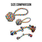 Tough Rope Dog Chew Toys Set - Great for Aggressive Chewers