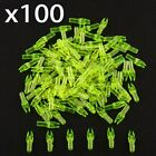 100Pcs ID 4.2/6/6.2mm Compound Hunting Plastic Arrow Shaft Tail Replace Nock