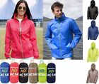 Mens Ladies Womens Packaway Waterproof Breathable Jacket Lightweight Rain Coat
