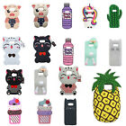 Lucky Cat Unicorn Rabbit Pineapple Pig Silicone Case For Samsung Galaxy S8 Plus