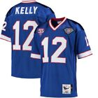 Jimmy Kelly #12 Buffalo Bills Men's Royal Blue Retired Player Throwback Jersey