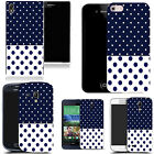 silicone gel cover for majority Mobile phones - dual polka silicone