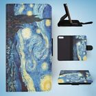THE STARRY NIGHT BY VAN GOGH #2 FLIP WALLET CASE COVER FOR IPHONE 7 PLUS