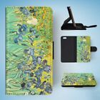 IRISES BY VAN GOGH FLIP WALLET CASE COVER FOR IPHONE 6 / 6S