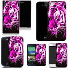 hard durable case cover for samsung & other mobile phones - pink tiger