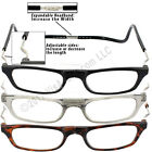 CliC XXL EXTRA LARGE MAGNETIC READERS SNAP-closed frame HANGS-around-neck