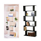 6 Tiers Storage Display Unit Bookcase Bookshelf Shelves Home Office Furniture