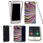 Shockproof 360° Silicone Clear case cover for many mobiles - design ref zx0804