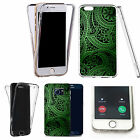 Shockproof 360° Silicone Clear case cover for many mobiles - design ref zx0091