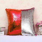 Magic Reversible Mermaid Pillow Case Sequin Glitter Sofa Cushion Cover UK STOCK