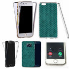 Shockproof 360° Silicone Clear case cover for many mobiles - design ref zx2188