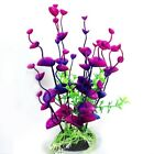 NewArtificial Fake Fish Tank Plant Aquarium Aquatic Decoration Ornament Flowers