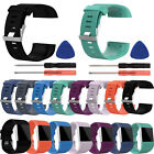 Silicone Wristband Replacement Band Strap for Fitbit Surge Tracker Large Small