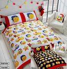 Rapport Multi Christmas Icons Emoji Fully Reversible Duvet Set S/D/K