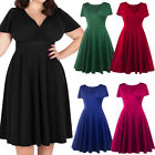 Women's Plus Size Dresses Casual Wear Loose Fashion Clothes Size12 16 18 20 22