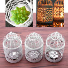Bird Cage Candlestick Candle Holders With Candle Home Room Decoration Gift