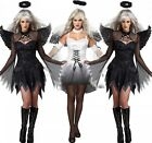 Women Costume Halloween Christmas House Party Decoration Angel Black White New