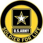 US Army Soldier For Life Magnet, 3-1/8Army - 66529