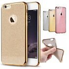 Bling Glitter Shockproof Soft Silicone Case Cover for iPhone 5s 6 6s 7 Plus UK