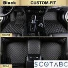 Scotabc All Weather Car Mats for Dodge Journey,Watherproof  Heavy-Duty Carpets
