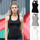 SF Skinnifit Ladies Stretch Rib Racer Back Vest Colour Choices