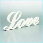 LOVE Sign Plaque Letters Plastic not Wood Wedding Home Decor Housewarming Gift