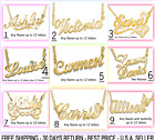 Personalized Name Necklace 18K Gold Plated. High Quality Gold Name Necklace