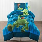Disney The Good Dinosaur TWIN or FULL Size Reversible Comforter+Sheets+Plush Toy