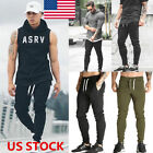 Men Skinny Sweatpants Gym Slim Fit Bottoms Sport Pants Tracksuit Casual Trousers