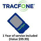 Preloaded TRACFONE SIM Card with $99 Plan (1 YEAR SERVICE) PRE-ACTIVATED