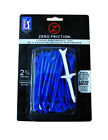 """Zero Friction Performance 3-Prong 2-3/4"""" Golf Tees 4-Packs Multiple Colors"""