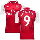 Arsenal Home Shirt 2017/18 &amp; Lacazette #9 available  <br/> Quality shirt with great price for 2017/18 season /: