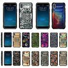 For Apple iPhone X / iPhone 10 Armor Rugged Hybrid Holster Belt Clip Case Stand