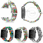For Apple Watch Series 3 2 1 38mm Leather Bracelet Strap Wrist Band Replacement