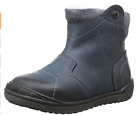 FRODDO BLUE LEATHER WOOL LINED SIDE ZIP  BOYS BOOTS + FREE P&P