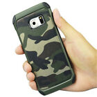 For iPhone 5 6S 7 Plus Slim Camo Case Tough Hybrid Armor Hard Cover Protective