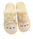 Women Winter Warm Plush Animal Sheep Indoor Slippers Men Women Soft Home Shoes